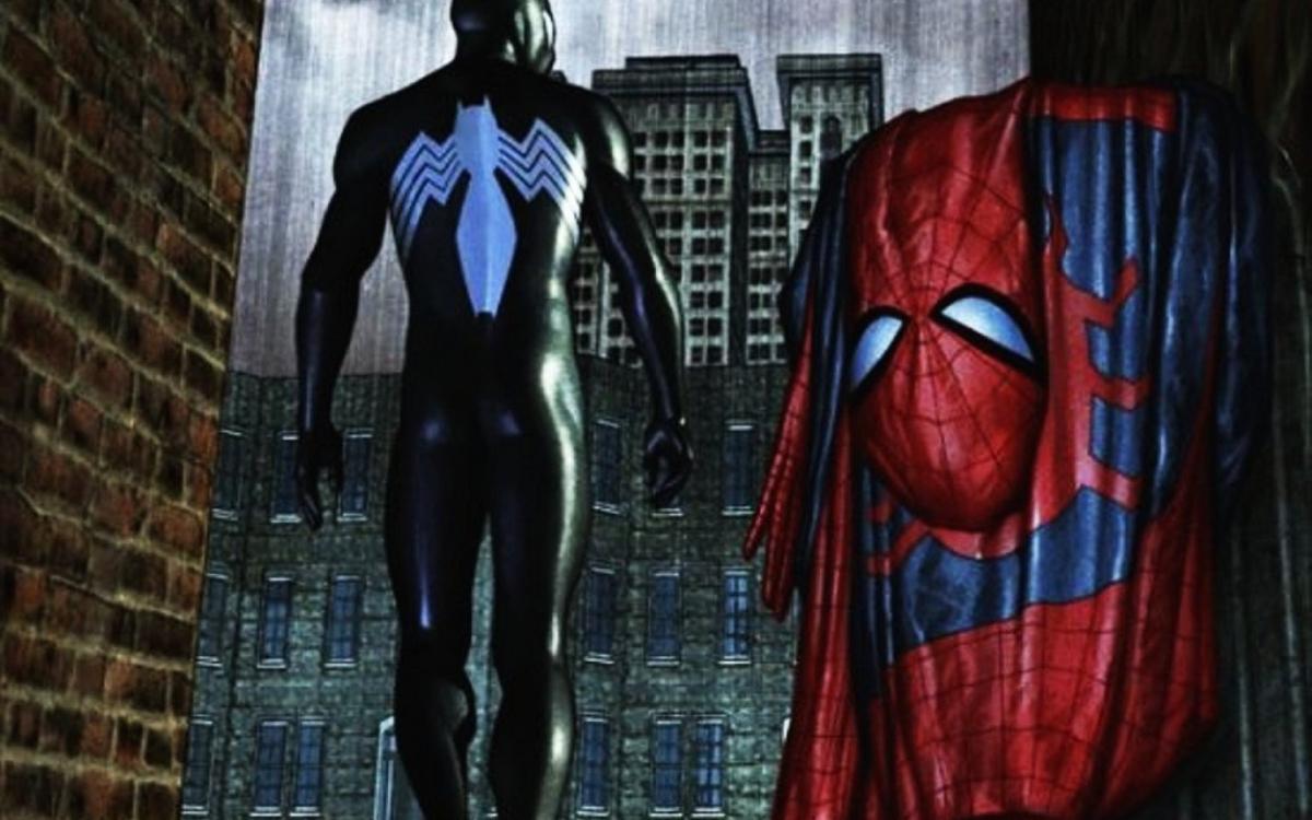 сказывается картинки с красным и черным человеком пауком важную роль