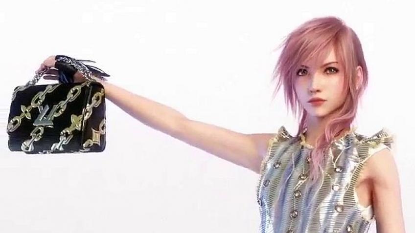 Героиня Final Fantasy XIII снимается в рекламе Louis Vuitton