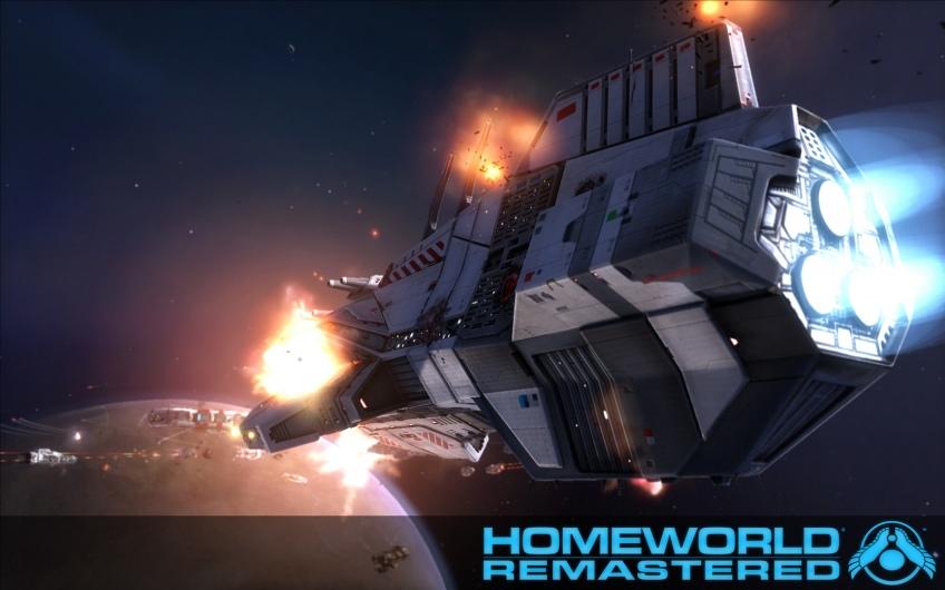 Gearbox показала первые кадры из переиздания Homeworld