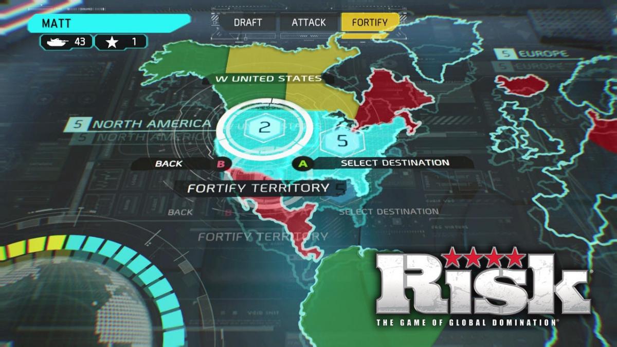 Exact risk global domination xbox