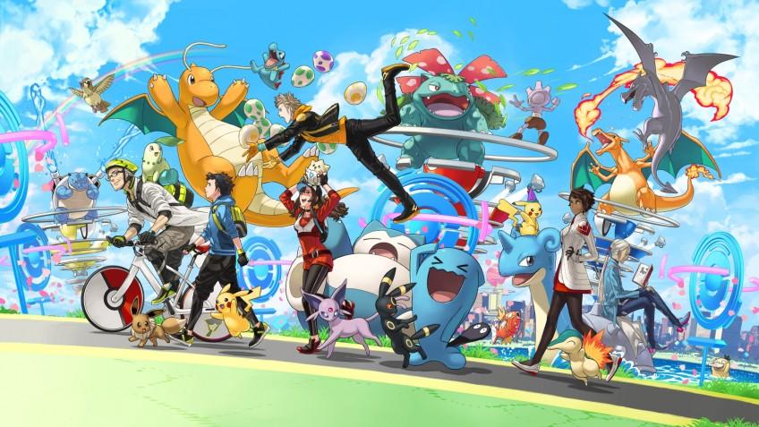 Прошлый год стал самым успешным в истории Pokemon GO