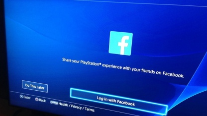 На PlayStation4 больше нет интеграции с Facebook