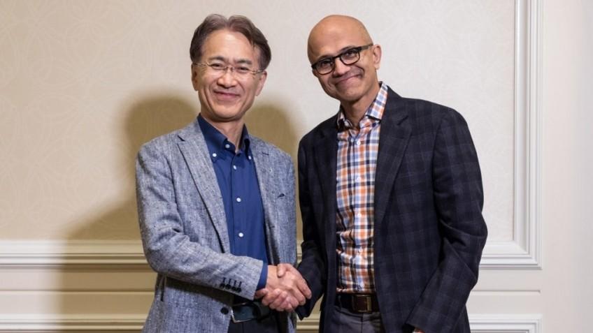Microsoft: Sony была инициатором партнёрства в сфере облачных технологий