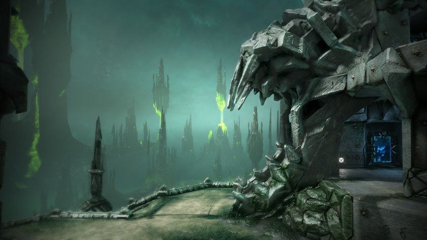 Свежее обновление добавило в Quake Champions новую арену