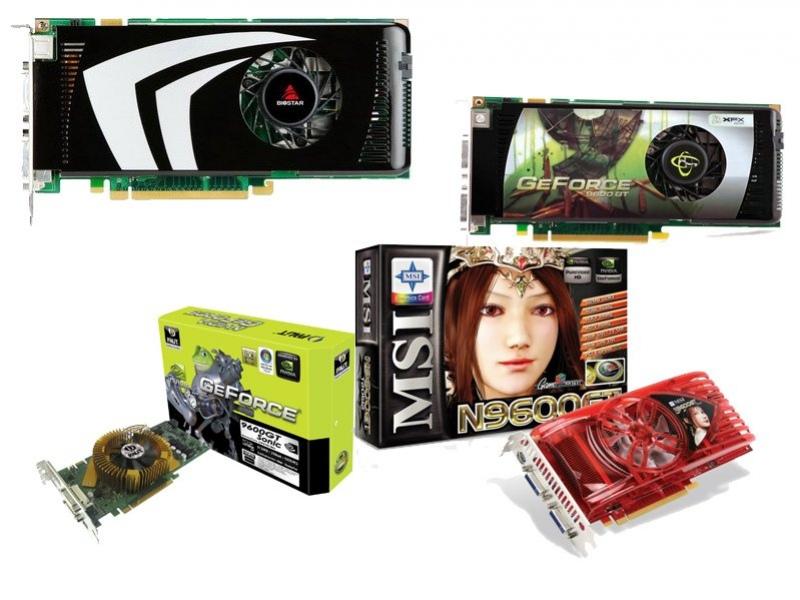 Анонсы GeForce 9600 GT