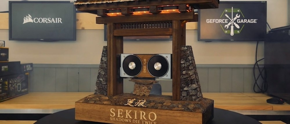 NVIDIA и Future Works показали корпус для PC в стиле Sekiro: Shadows Die Twice