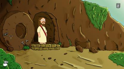 В рисованном приключении The Third Day мы играем за Иисуса