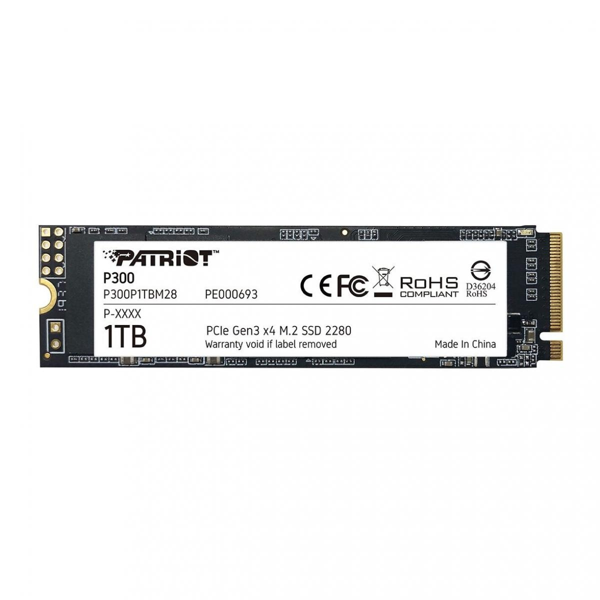 Patriot выпустила новые бюджетные SSD линейки P300
