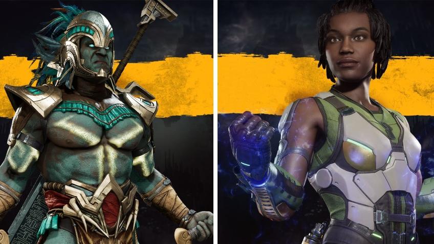 Коталь Кан против Джеки Бриггс в новом геймплейном ролике Mortal Kombat11