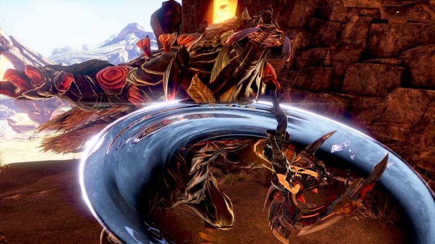 В God Eater3 справляться с особо сильными арагами можно будет в компании