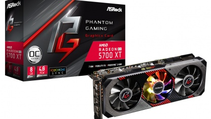 ASRock представила видеокарты Radeon RX 5700 Phantom Gaming