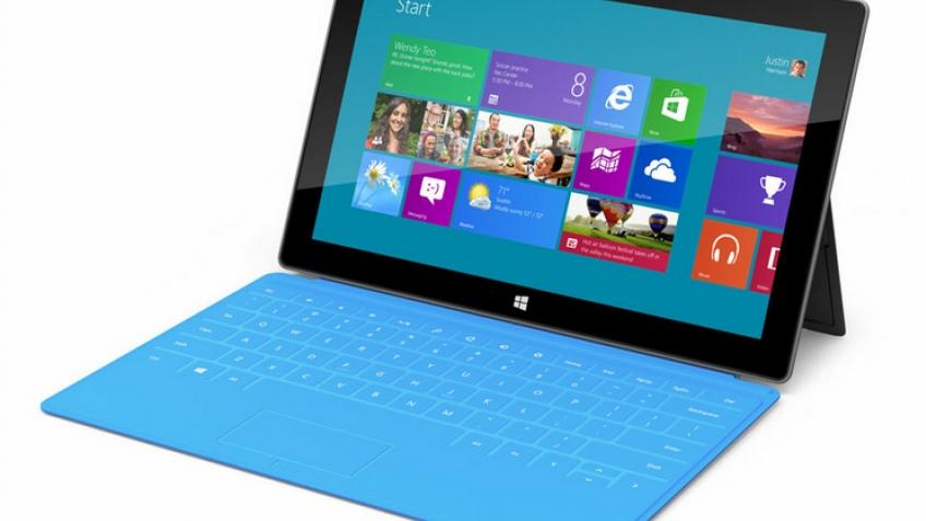 Microsoft представила собственные планшеты Surface