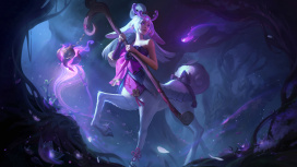 К чемпионам League of Legends присоединилась Лиллия из волшебного леса