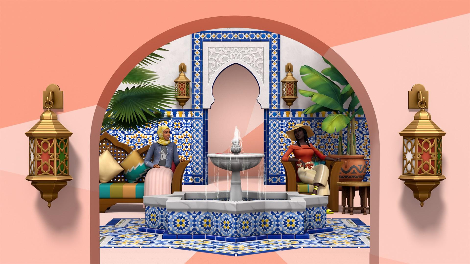 EA пришлось анонсировать The Sims 4: Backyard Oasis после утечки в Xbox