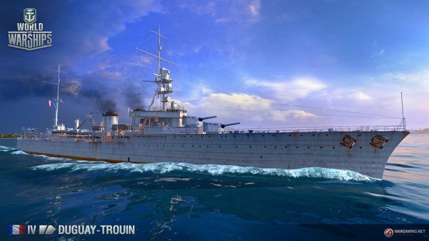 Авторы World of Warships рассказали о создании французских крейсеров