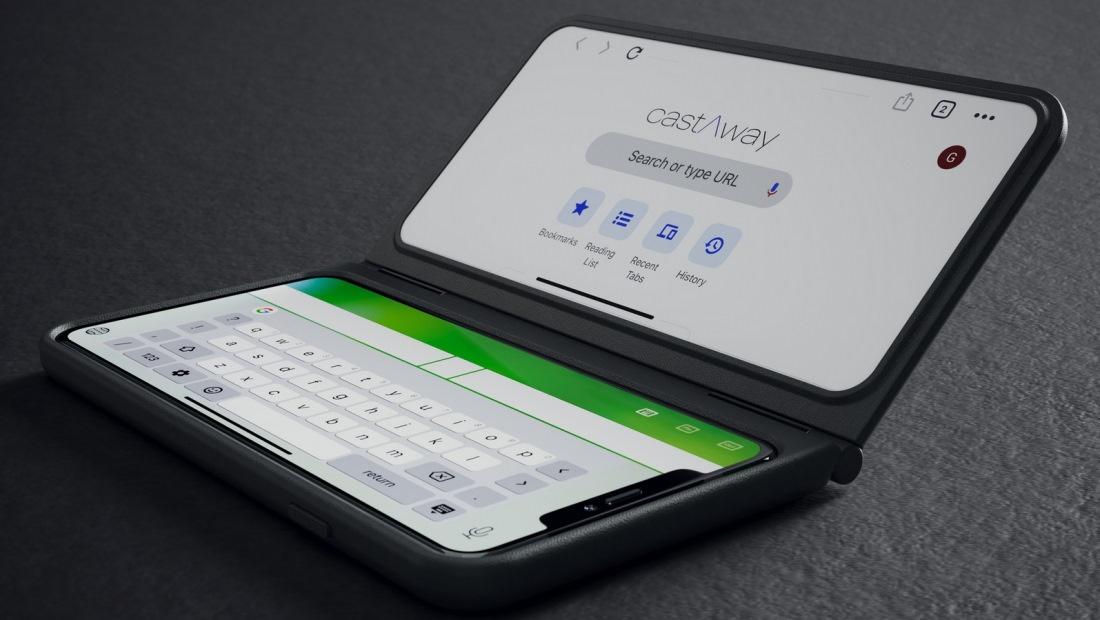 Умный чехол castAway добавит смартфонам второй экран