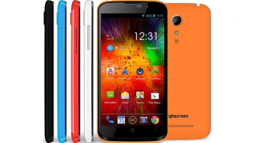 Смартфон Highscreen Omega Prime Mini поступил в продажу