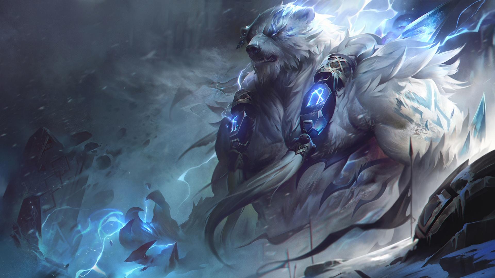 Авторы League of Legends показали геймплей за обновлённого Волибира