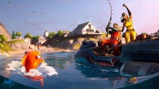 На этих выходных в Fortnite пройдёт первый рыболовный турнир