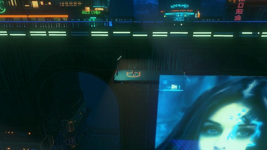 Сюжетный симулятор киберпанкового курьера Cloudpunk выпустят на консолях