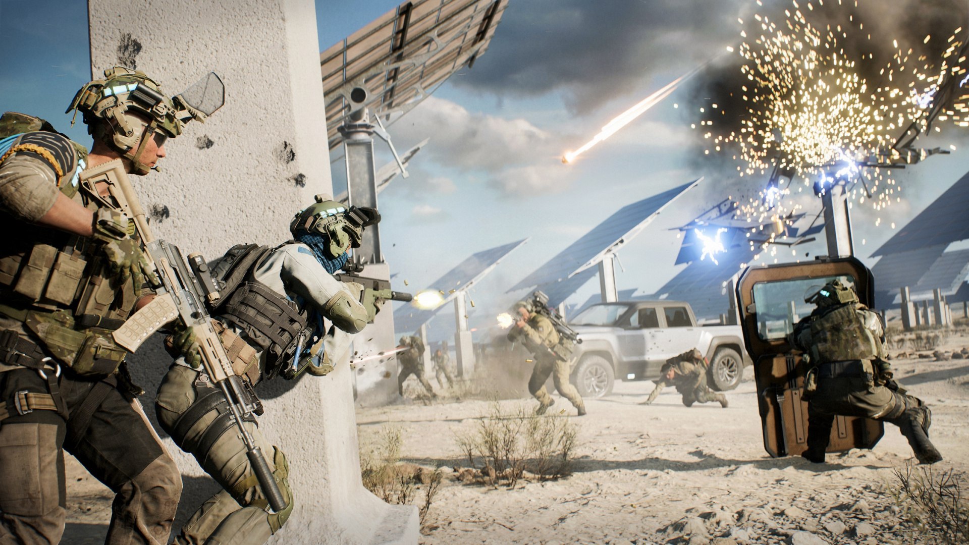 Разработчики Battlefield 2042 представили режим Hazard Zone