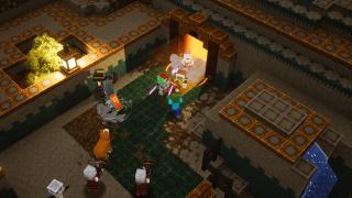 Трейлер к выходу дополнения «Воющие вершины» для Minecraft Dungeons