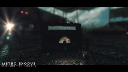 Художник воссоздал уровень из Metro: Exodus на CryEngine V