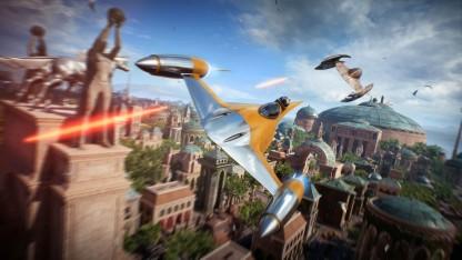 Star Wars Battlefront 2 в воздухе: как выглядит геймплей за пилота истребителя