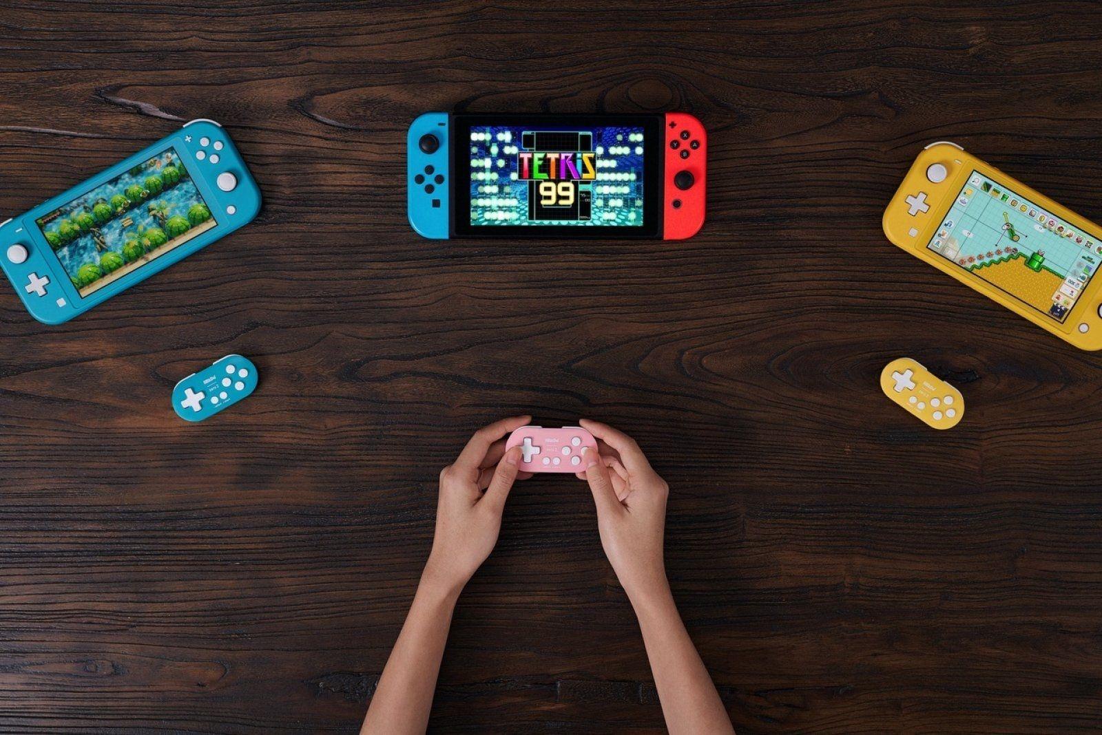 8BitDo принимает предзаказы на новый геймпад для Switch