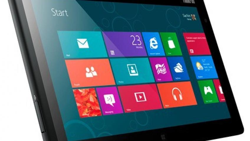 Lenovo назвала цены на планшеты с Windows8