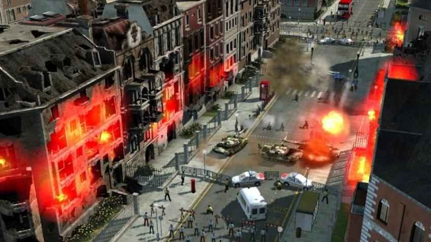 Сильный сюжет Act of War