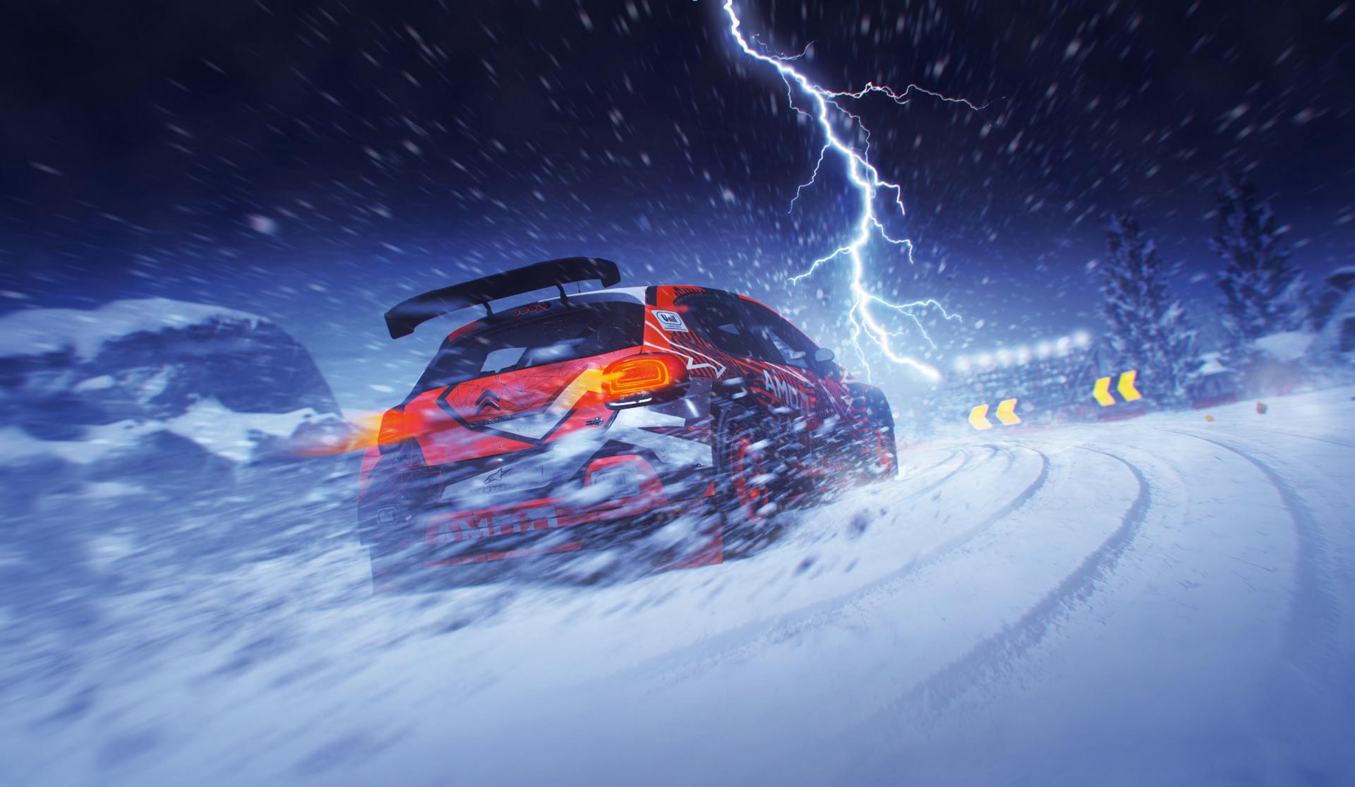 Ночная гонка в Нью-Йорке в новом геймплейном ролике DIRT5
