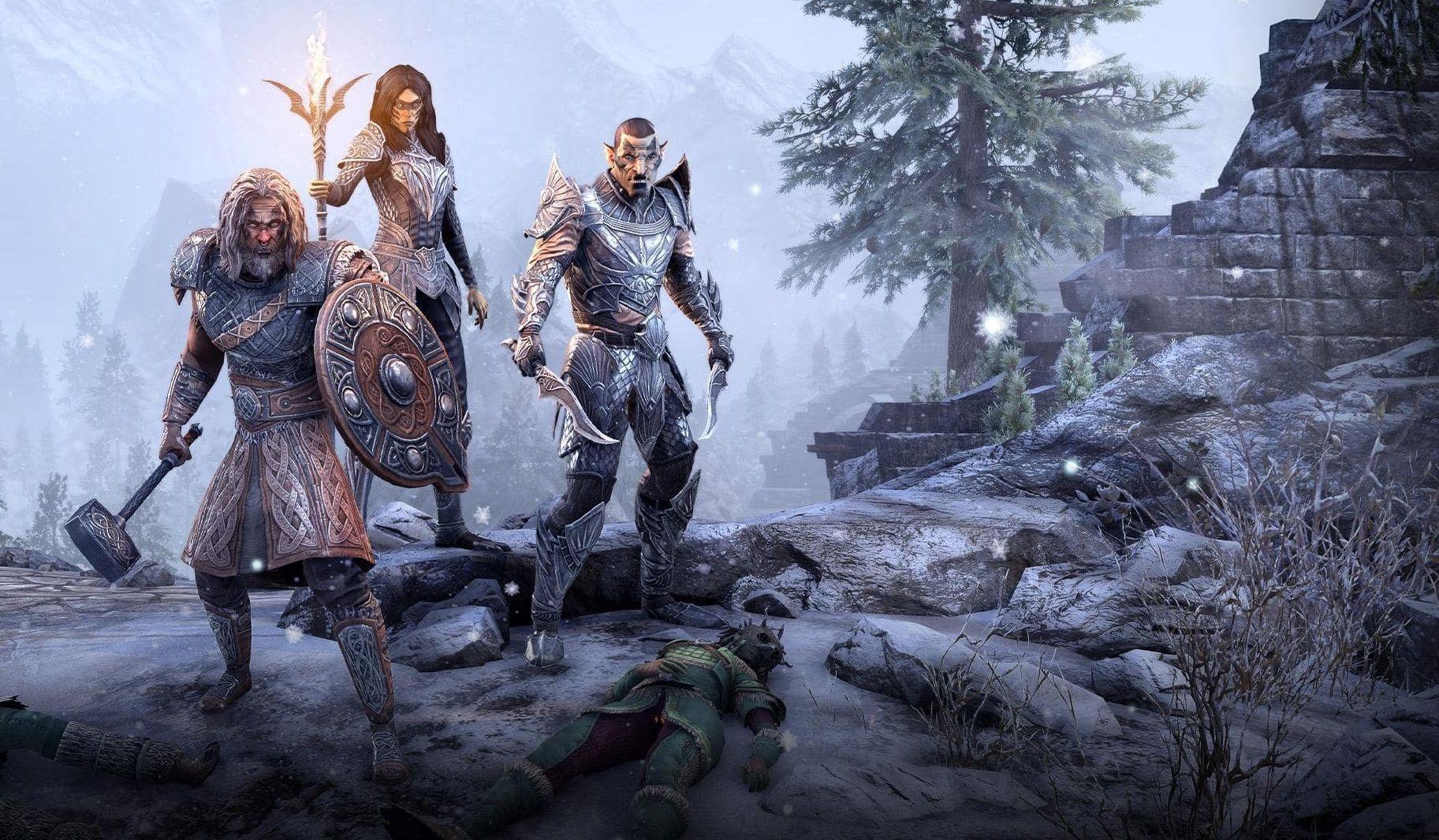 Играть в The Elder Scrolls Online бесплатно можно будет неделю или две