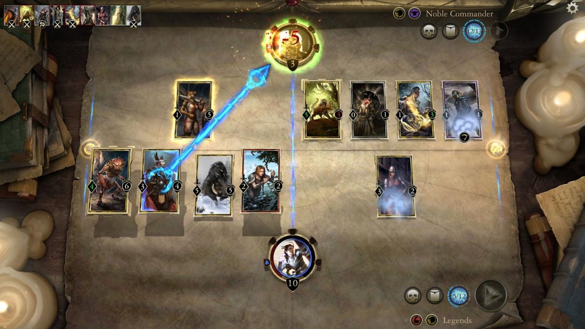 Стартовало открытое бета-тестирование The Elder Scrolls: Legends