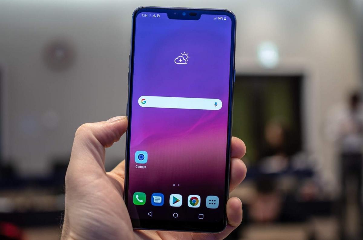 К смартфону LG G8 ThinQ можно будет подключить второй экран