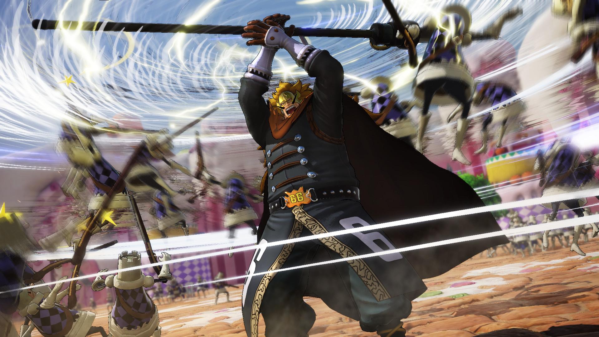 Винсмок Джадж в новом геймплейном трейлере One Piece: Pirate Warriors4