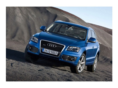 Audi Q5 с графикой от NVIDIA