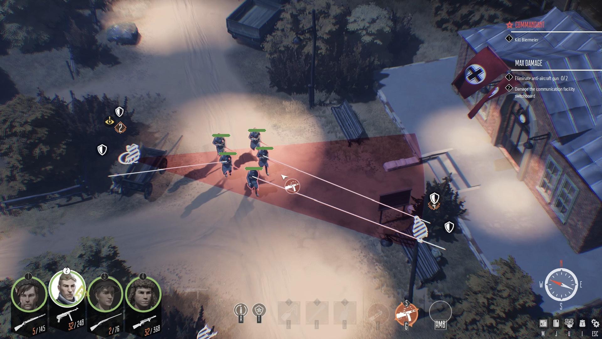 Тактическая игра «Партизаны 1941» вышла в Steam