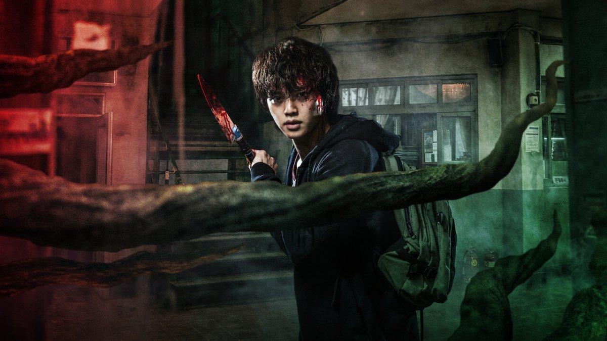 Монстры и хаос в трейлере южнокорейского хоррора Netflix «Милый дом»