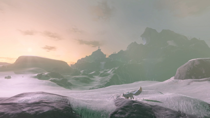 Энтузиасты «вытащили» карту из The Legend of Zelda: Breath of the Wild