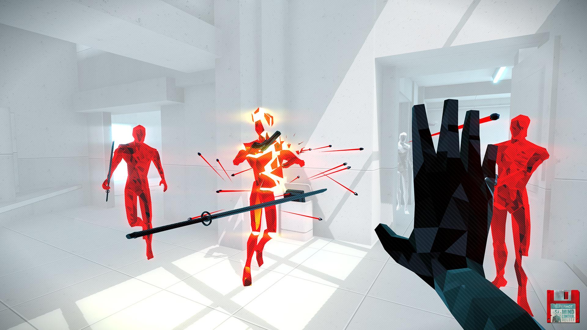 SUPERHOT: MIND CONTROL DELETE - обзор игры.