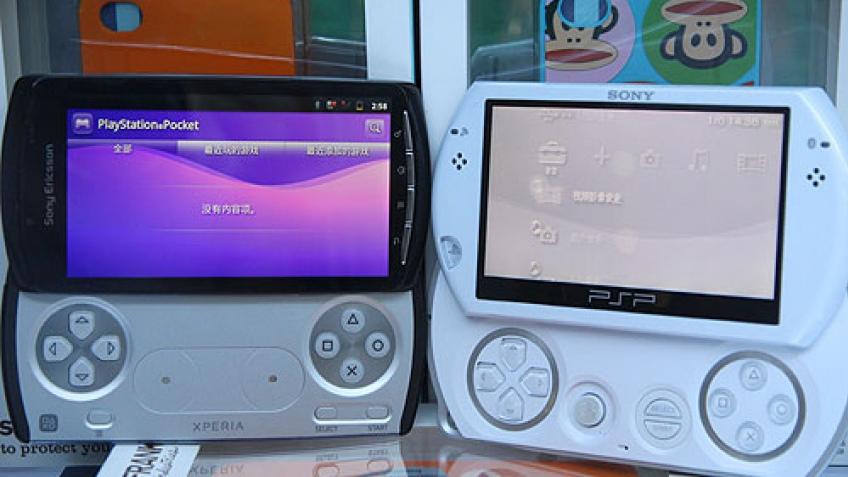 PlayStation Phone в тестах китайских энтузиастов