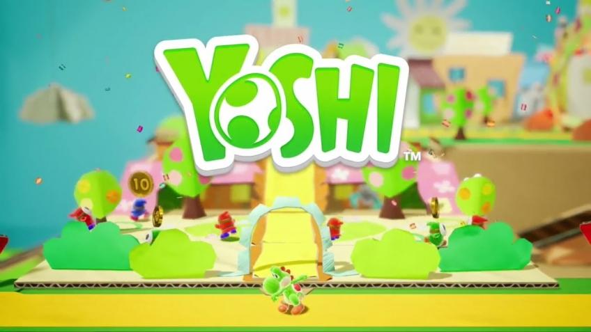 Nintendo продемонстрировала игровой процесс Yoshi для Switch