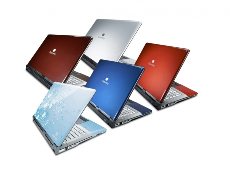Яркие ноутбуки Gateway