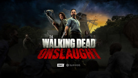 Вышел релизный трейлер VR-боевика The Walking Dead Onslaught