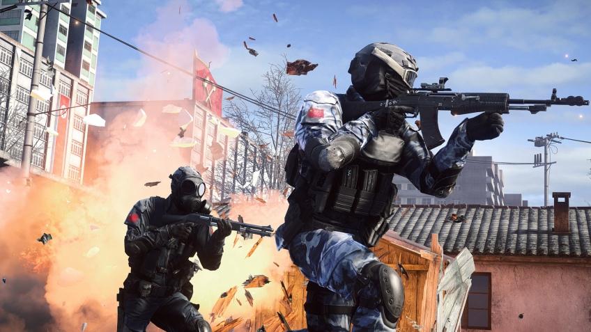 Весеннее обновление для Battlefield4 выпустят завтра