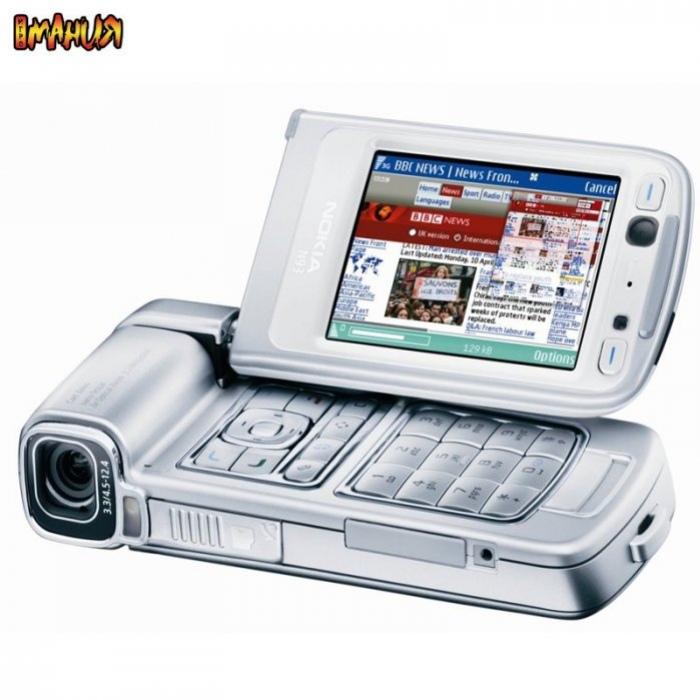 Графика Nokia N93