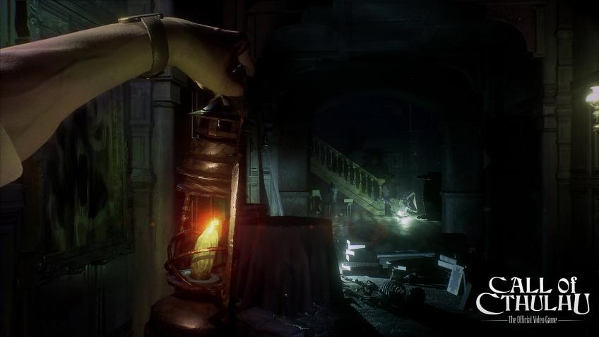 В новом трейлере игры Call of Cthulhu показали беготню по старинному поместью
