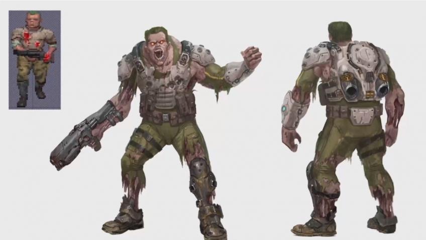 Дебютный геймплейный ролик Doom Eternal