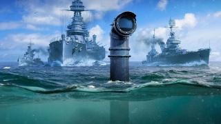 Все вниз! В World of Warships появятся подводные лодки